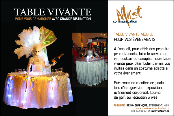TABLE VIVANTE