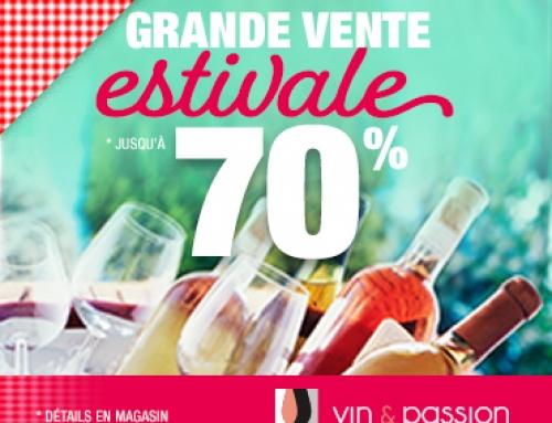 Vente estivale Vin & Passion